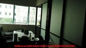 foto hasil pekerjaan ruang direktur