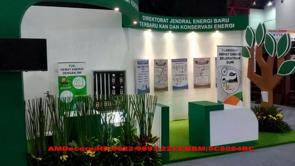 foto Finishing booth stand pameran ESDM