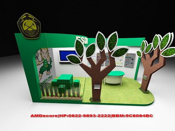 Project Booth Stand Pameran ESDM JIEXPO Kemayoran