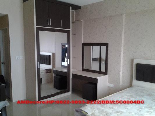 Paket interior apartemen type studio for Interior apartemen studio