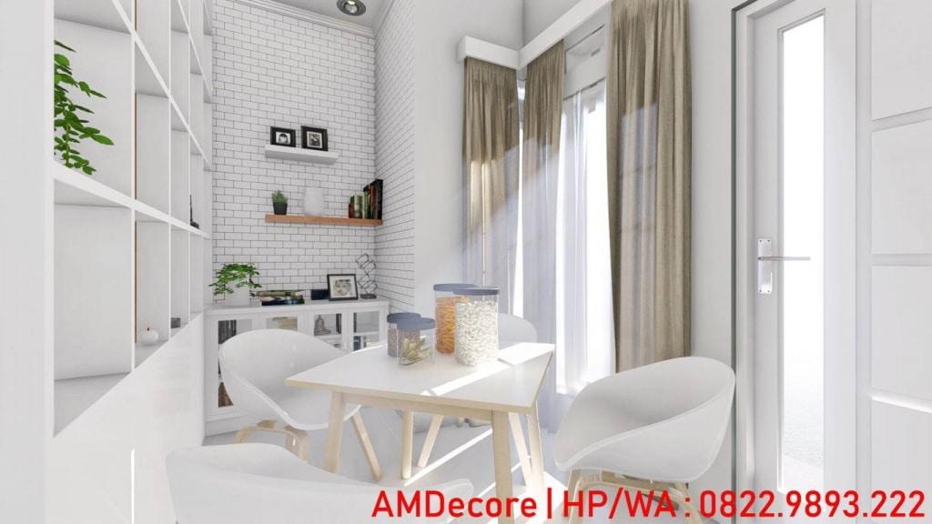 Gambar desain rumah minimalis skandinavia ruang tamu