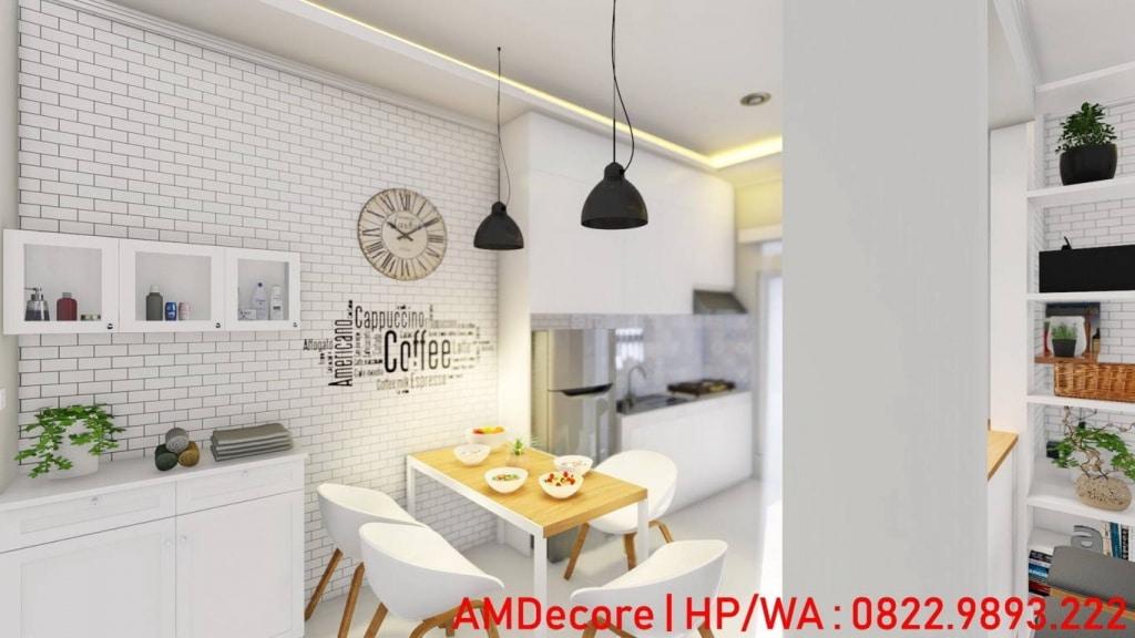 Gambar model rumah skandinavia ruang makan