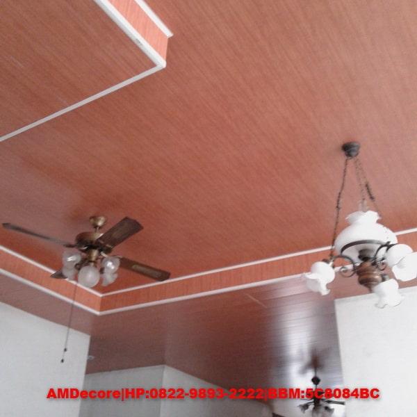 gambar Aplikasi Plafond PVC pada ruang tengah