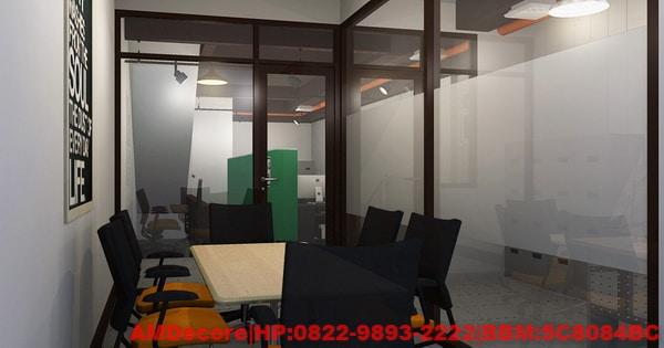 gambar Desain Interior Industrial Kantor Pemasaran Castrol