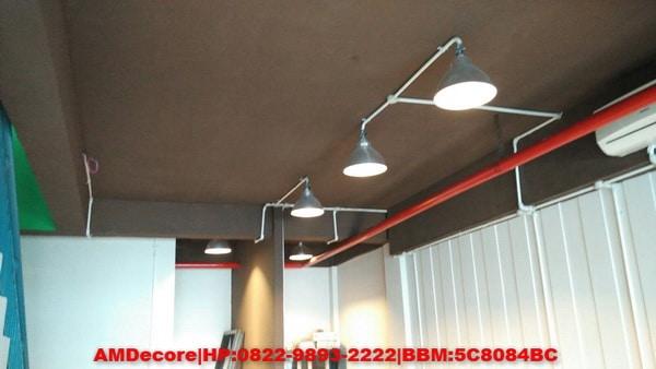 foto Hasil pekerjaan interior tampak plafond