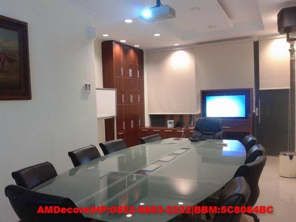gambar Interior ruang meeting ruko soepomo