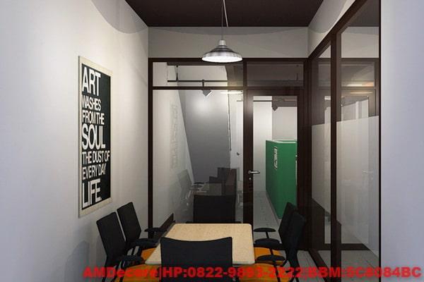gambar Ruangan meeting konsep industrial