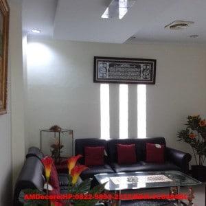 gambar Ruangan tamu interior ruko