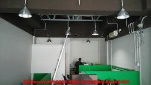 foto foto hasil pekerjaan ruangan staff