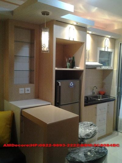 ilustrasi interior dapur paket interior full furnish gold elektronik