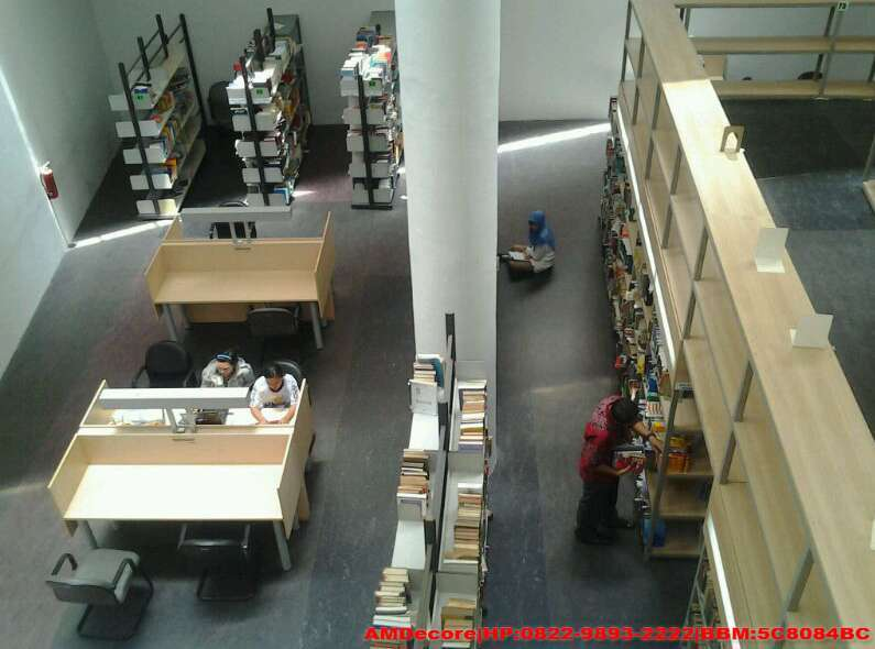 Gambar Dokumentasi interior Perpustakaan UI view 2