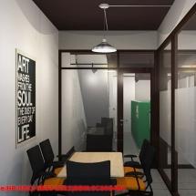 konsep Gambar konsep interior ruang meeting kantor pemasaran Castrol