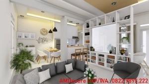 Gambar dekorasi rumah Scandinavian ruang keluarga