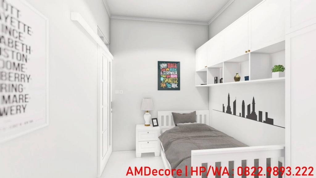 Gambar desain rumah minimalis skandinavia kamar tidur anak