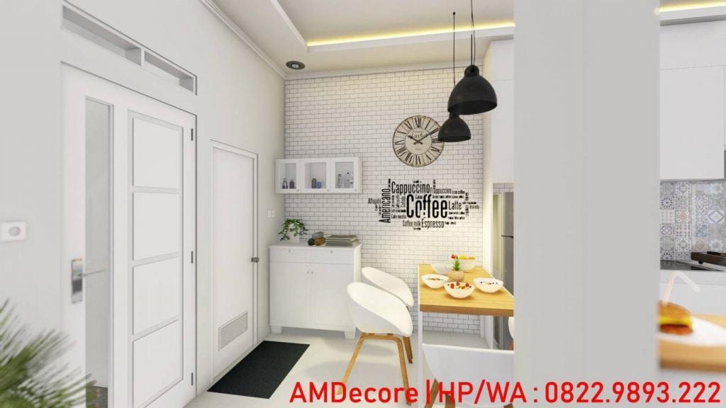 Gambar konsep rumah Scandinavian ruang makan