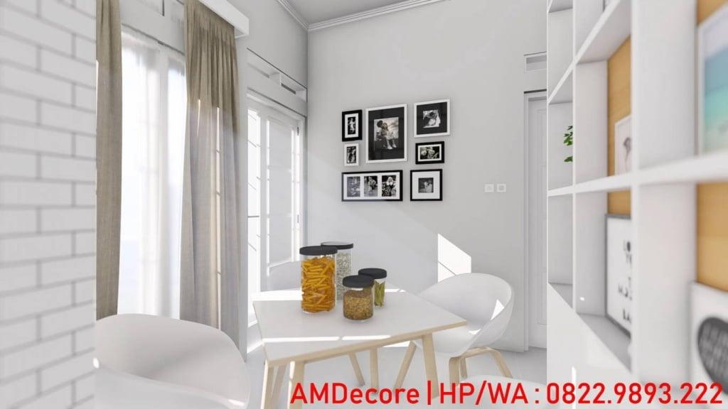Gambar konsep rumah Scandinavian ruang tamu