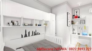 Gambar model rumah skandinavia kamar tidur anak