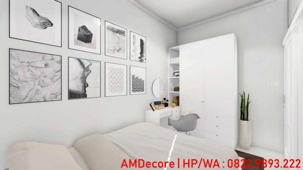 Gambar model rumah skandinavia kamar utama
