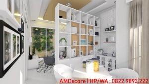Gambar model rumah skandinavia ruang tamu